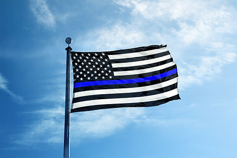 Support the Police Thin Blue Line Americ