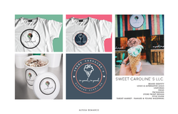 Sweet Carolines Branding and Merch