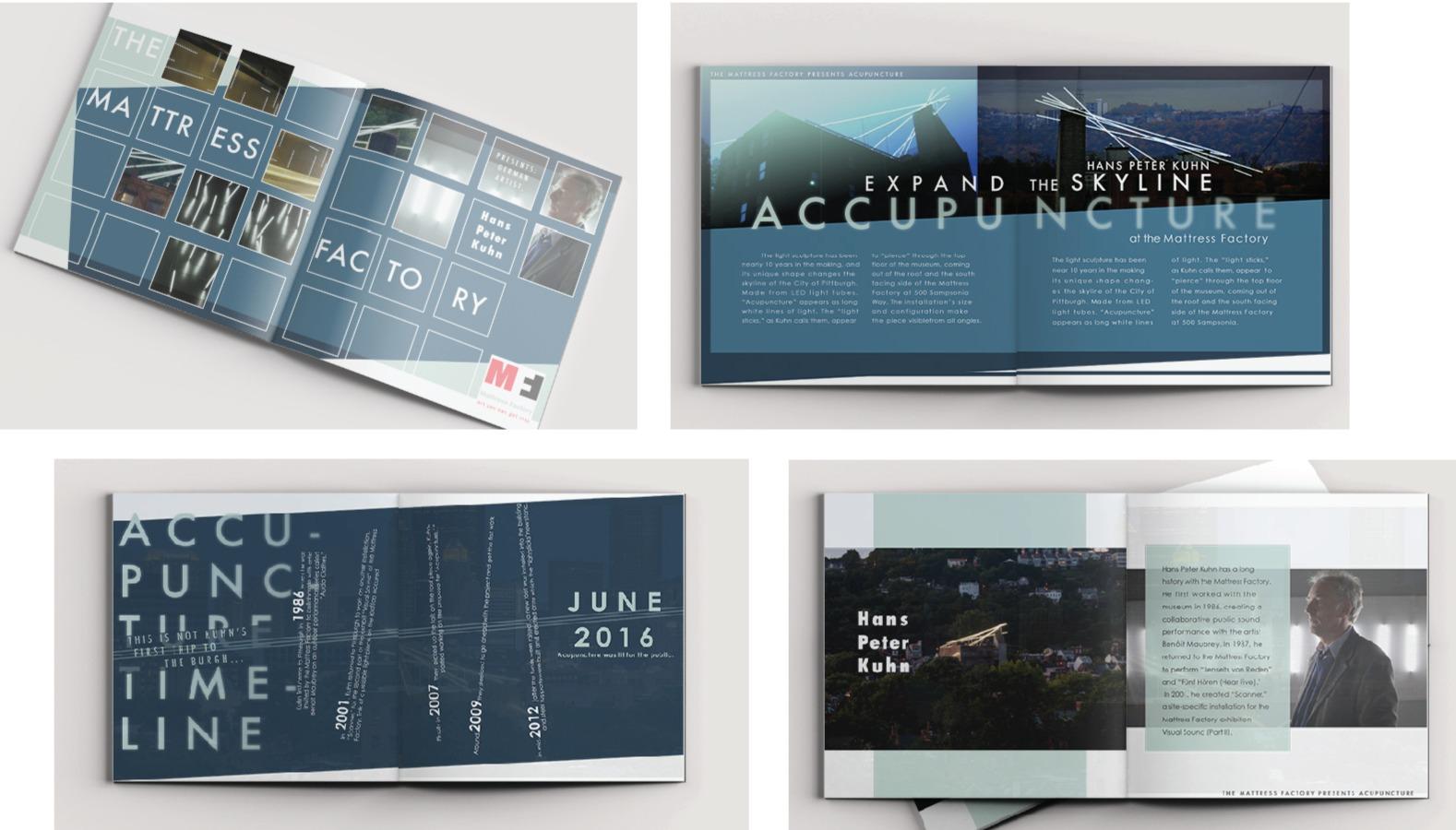 Mattress Factory Promo Book