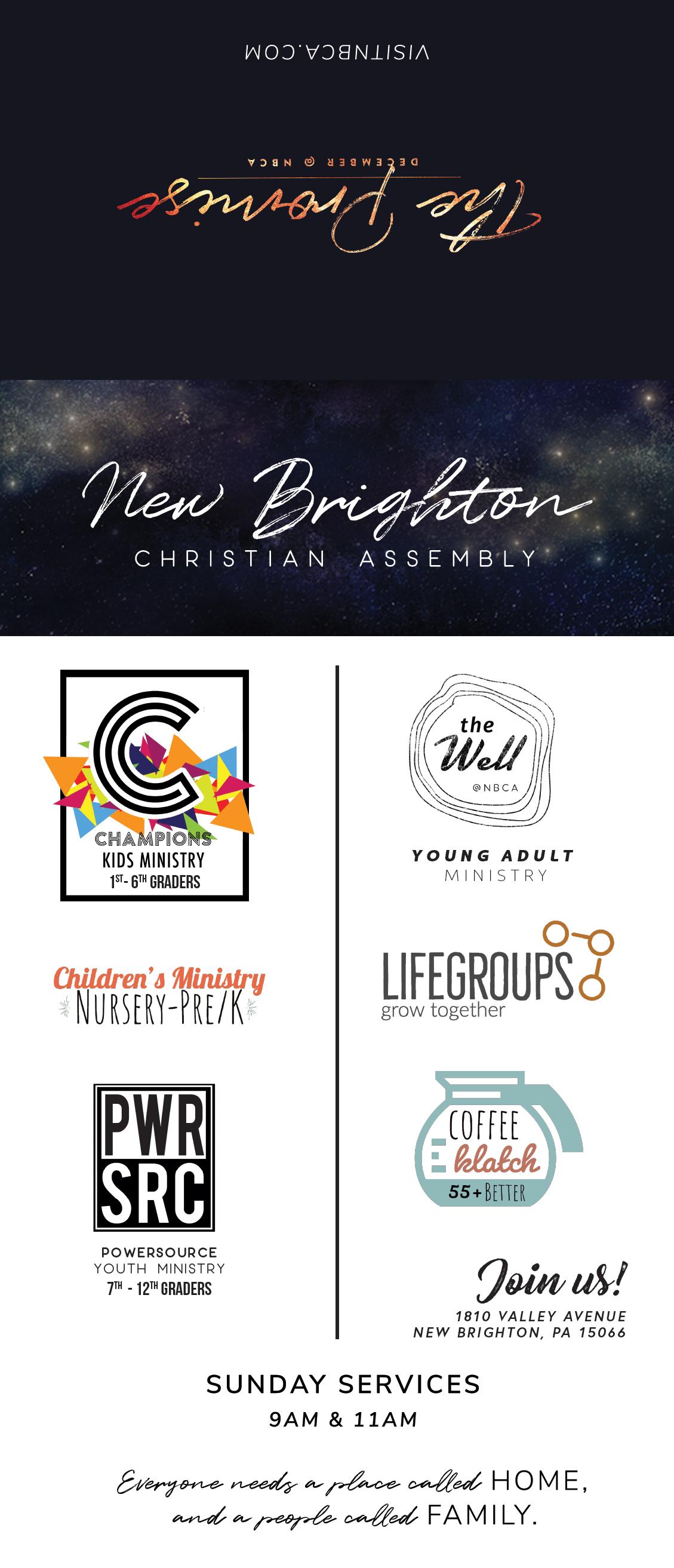 Series Theme Invite Card w/ Perforation