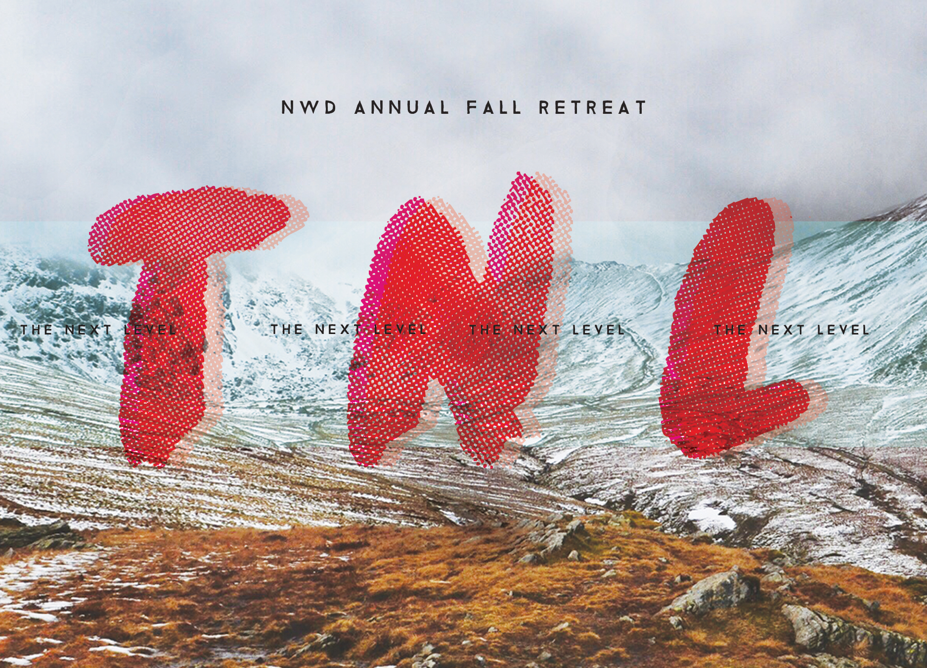 Youth Retreat Postcard