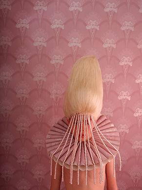 Patrick Van der Elst - pink collar