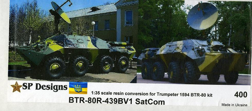 400 BTR-80 R-439BV1 Sat Com