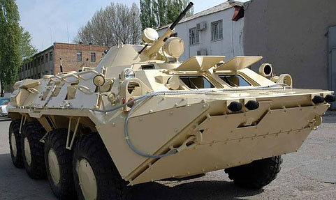 292 Iraqi army BTR-80UP