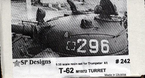 242 T-62 m1972 turret + update detail set