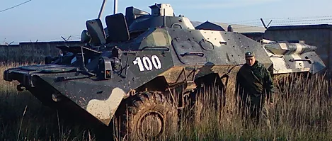 403  1V152  BTR-80 Command and Forward Observer