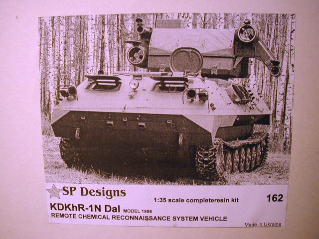 162 KDKhR-1N Dal chem recon vehicle