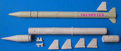 354 9M21B rocket w/nuclear warhead for FROG-7