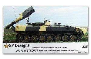 235 UR-77 Meteorit mine clearing vehicle