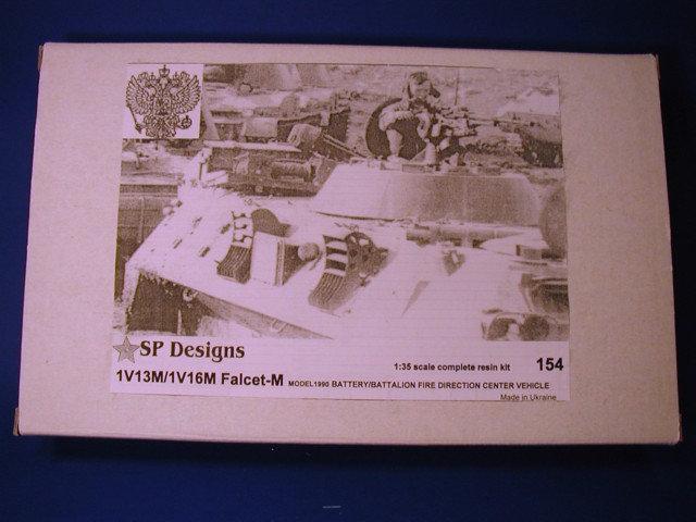 154 1V13M/1V16M Falcet m1986 battery/battalion FDC