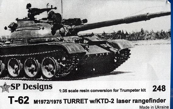248 T-62 m1972/1975 w/KTD-2 laser rangefinder