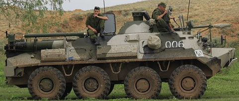 294 R-145BM-1(late) staff & command vehicle