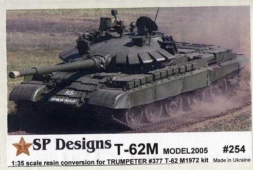 254 T-62M m2005 Conversion