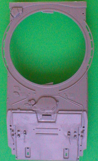 358 T-72M1 Front Glacis for Trumpeter T-72A