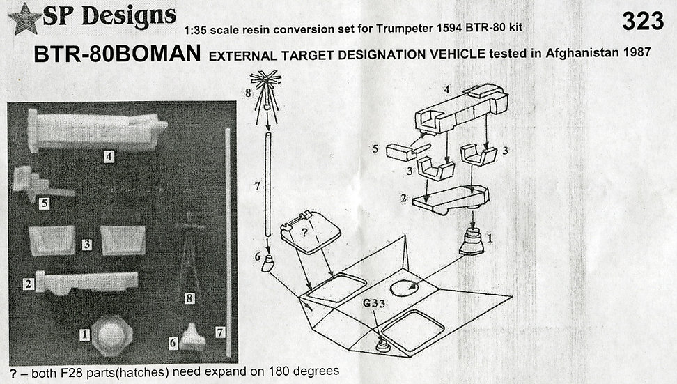323 BTR-80 BOMAN laser designator