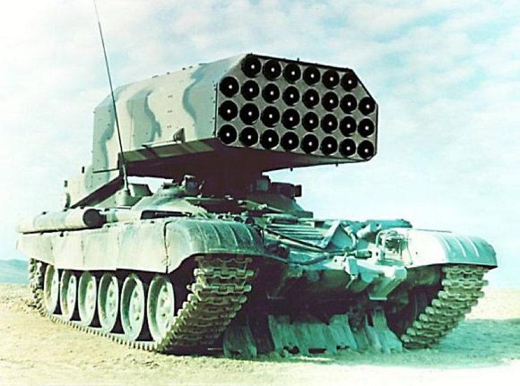 273 TOS-1 m1999 Tamiya T-72 conversion