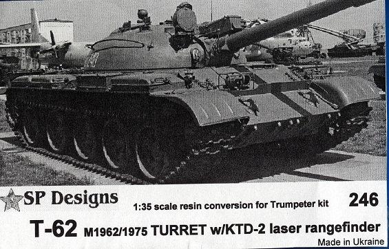 246  T-62 m1962/1975 w/KTD-2 laser rangefinder