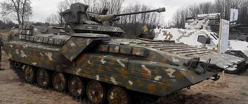 338 Ukrainian BMP-1UM w/Stylet fighting module m2016 conversion