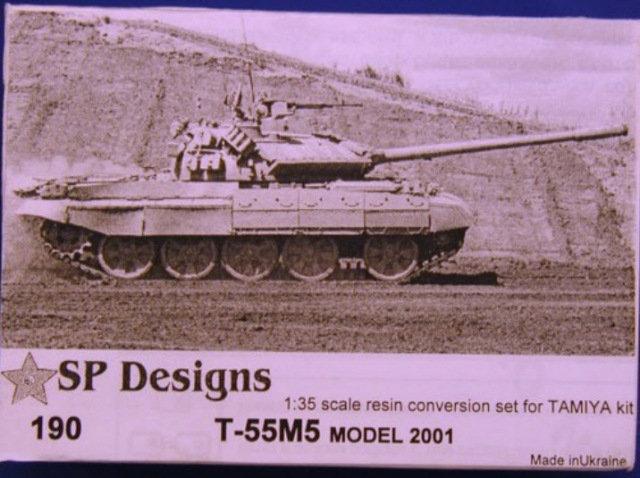 190 T-55M5 conversion m2001