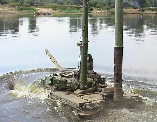 351 T-80B and -BV deployed wading trunks