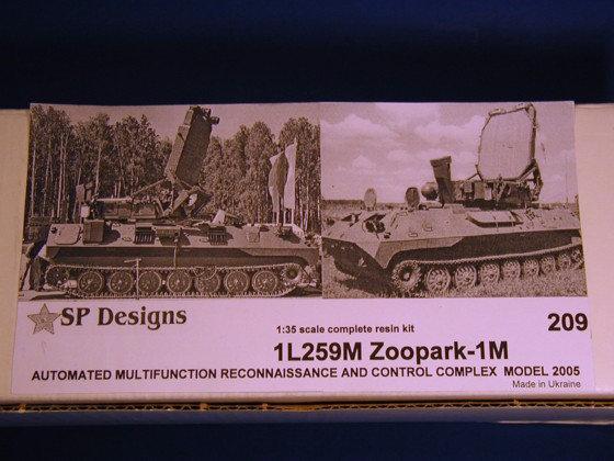 209 1L259M Zoopark-1M m2005 mobile artillery radar