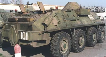 350 BTR-60R-975M Forward Air Control Vehicle