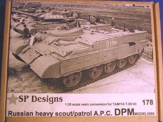 178 DPM T-55 based Scout APC m1999 conversion