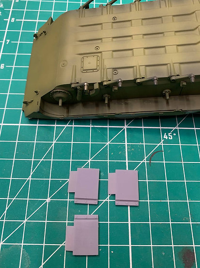 BMP Lower Hull Additional Armor Plate