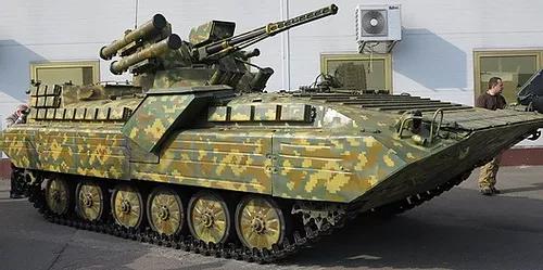 337 Ukrainian BMP-1UM w/Shkval-A fighting module m2015 conversion