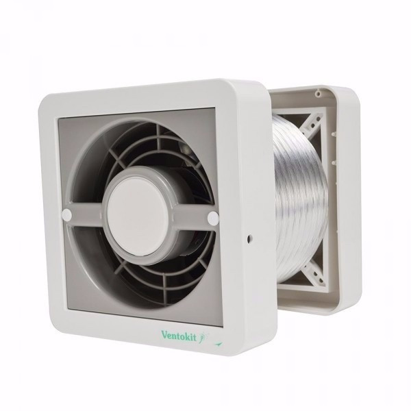 Sistema que renova o ar de espaços fechados por meio de ventiladores ou insufladores.