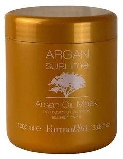 ARGAN SUBLIME Hair Mask - Питательная маска для волос с маслом Арганы 1000мл