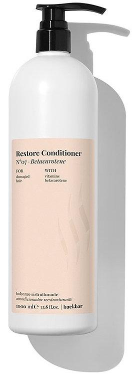 BACK.BAR Restore Conditioner No.7 - восстанавливающий кондиционер для повреждённых волос 1000мл