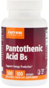 Витамин B5, 100 капсул