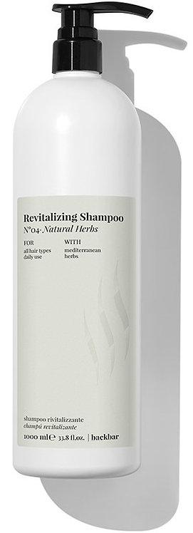 BACK.BAR Revitalizing Shampoo No.4 Natural Herbs 1000ml