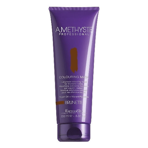 Amethyste Nourishing coloring mask BRUNETTE - For brown shades 250ml