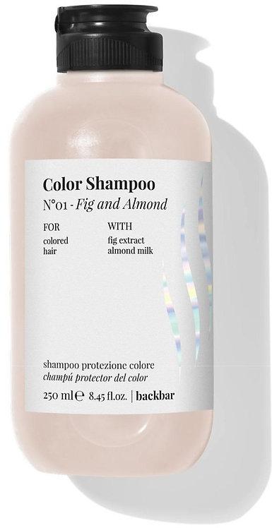 BACK.BAR Color Shampoo No.1 Fig+Almond 250ml