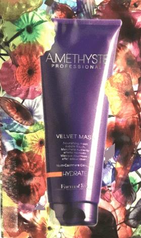 AMETHYSTE Hydrate Velvet Mask - niisutav ja toitev juuksemask 10ml