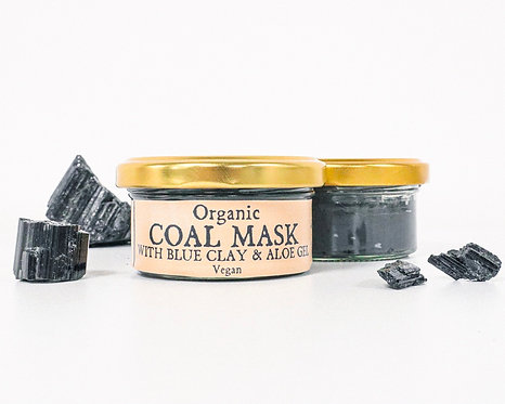 Organic Charcoal Clay Face Mask 70ml