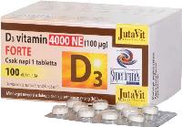 Vitamin D3, 100 tablets