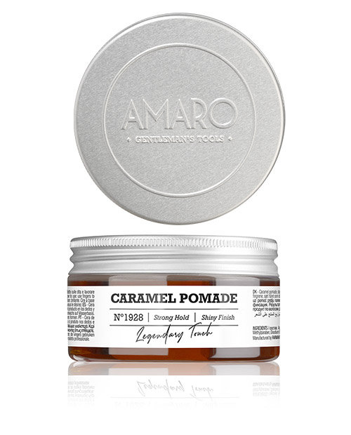 Barber Collection Amaro - Caramel Pomade strong hold 100ml