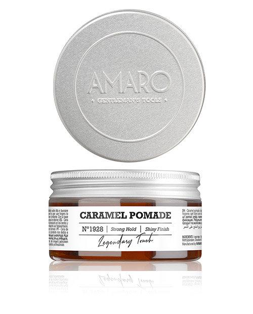 Barber Collection Amaro - Caramel Pomade strong hold - карамельный воск для волос сильной фиксации 100мл