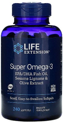 Omega-3 fatty acids, 240 Softgels