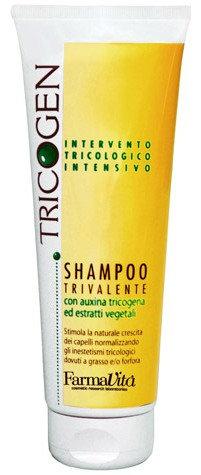 Трёхвалентный шампунь от перхоти Farmavita Tricogen Shampoo 250мл