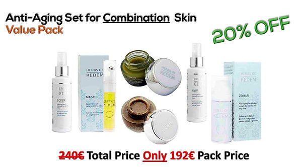 Anti-Aging Set for Combination Skin - for 6 months of use