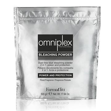 OMNIPLEX BLEACHING POWDER 2-IN-1 BLUE 500G