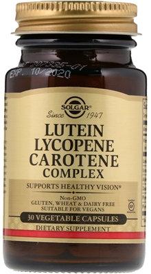 Vitamin A - Beta carotene, 30 capsules