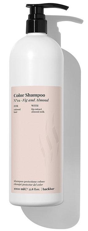 BACK.BAR Color Shampoo No.1 Fig+Almond 1000ml