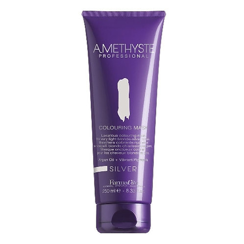 Amethyste Nourishing coloring mask SILVER - For light (silver) tones 250ml