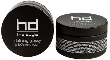HD - Life Style Defining Glossy Wax, Strong Hold 100ml