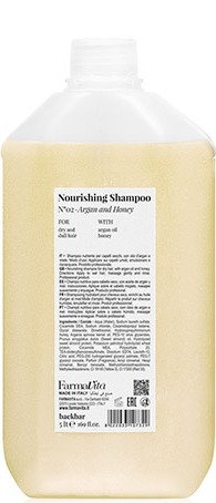 BACK.BAR Nourishing Shampoo No.2 Argan+Honey 5000ml